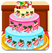 安娜公主圣诞节蛋糕