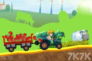 《拖拉机运输大赛》游戏画面2