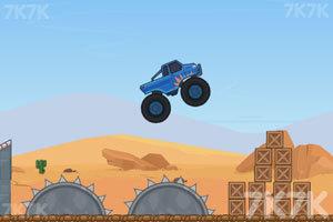 《超级大脚车挑战赛》游戏画面4