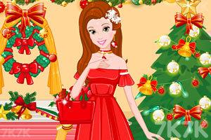 《美女的圣诞晚会》游戏画面1