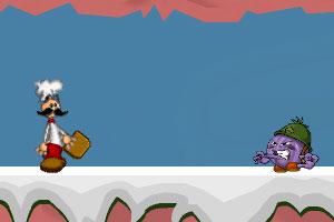 《老爹雪山探险2》截图1