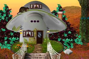 《逃离金色蘑菇屋》游戏画面1