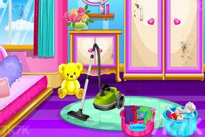 《娃娃屋清洁》游戏画面1