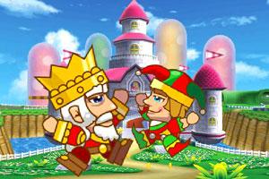 《国王和王子回皇宫》游戏画面1