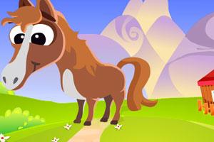 《逃离小马驹的家》游戏画面1