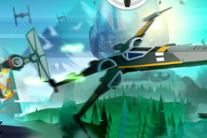 《超强战机反击战》游戏画面1
