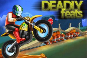《摩托极限特技》游戏画面1