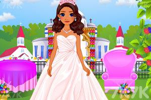 《莫阿娜公主的新娘装》游戏画面2