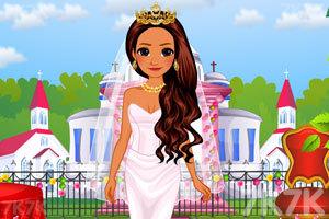 《莫阿娜公主的新娘装》游戏画面1