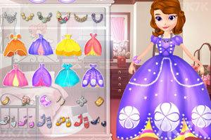 《索菲亚的舞会礼服》游戏画面3