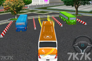 《3D巴士停车场2》游戏画面1