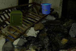 逃离恶心的垃圾房子