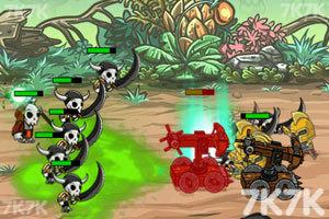 《怪物攻城掠地无敌版》游戏画面1