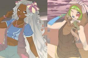 《时尚多样发型》游戏画面1