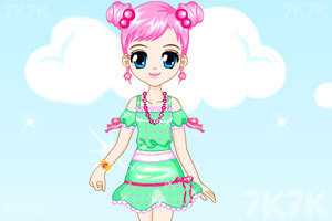 《夏天的可爱女孩子》游戏画面1