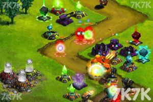 《星际塔防战中文无敌版》游戏画面4