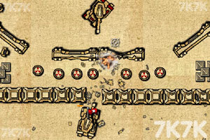 《进击的坦克无敌版》游戏画面2