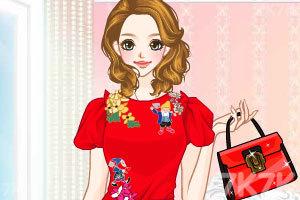 《绣花裙装》游戏画面2