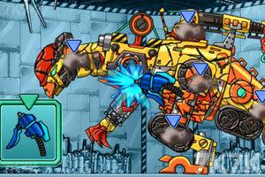 《修理机械鹦嘴恐龙》游戏画面1