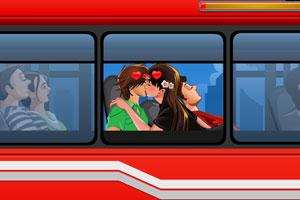 年轻人接吻