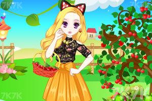《森迪端午出游摘樱桃》截图2