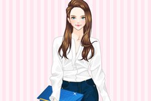 《时尚白领女性》游戏画面1