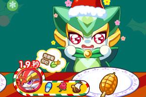 《奥奇圣诞最佳吃播》游戏画面1