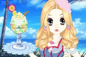 《森迪公主的夏日冰饮》游戏画面2