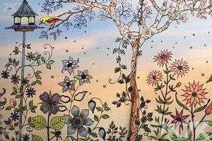 《秘密花园涂色本》游戏画面2