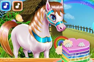 《小马烹饪彩虹蛋糕》游戏画面1