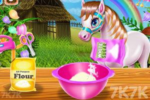 《小马烹饪彩虹蛋糕》游戏画面2