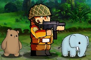 《特种兵与动物》游戏画面2