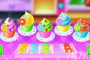 《彩色纸杯蛋糕》游戏画面2