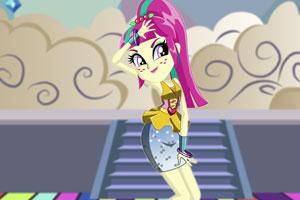 小马女孩是舞蹈家
