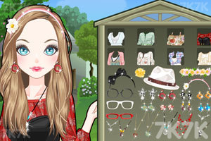 《乡村女孩大变身》游戏画面1