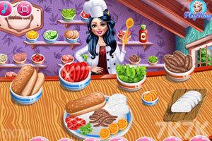 《女孩美味的早餐》截图1