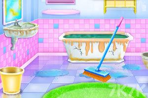 《浴室清洁与装饰》游戏画面3