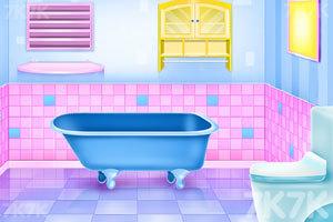 《浴室清洁与装饰》游戏画面1