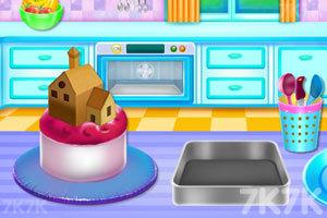 《娃娃屋蛋糕烹饪》游戏画面2