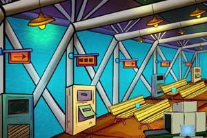 《逃离飞机场》游戏画面1