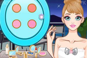 《时尚短款婚纱》游戏画面3