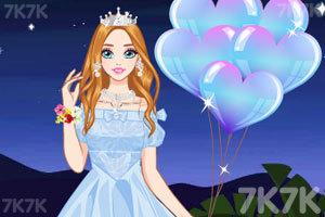 《时尚短款婚纱》游戏画面2