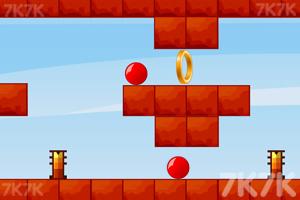 《红色弹球》游戏画面3