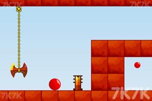 《红色弹球》游戏画面2