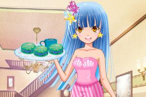 《鱼尾裙少女的马卡龙》游戏画面1