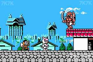 《忍者猫冒险记》游戏画面1