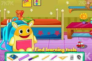 《小宝宝去上学》游戏画面4