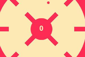 《旋转的小红点》游戏画面1