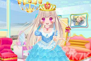 《甜甜小公主的小屋》游戏画面1