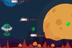 《UFO掠袭者》游戏画面1